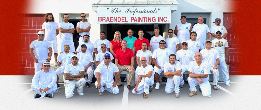 Braendel Painting Team for exterior painting in Sarasota, FL